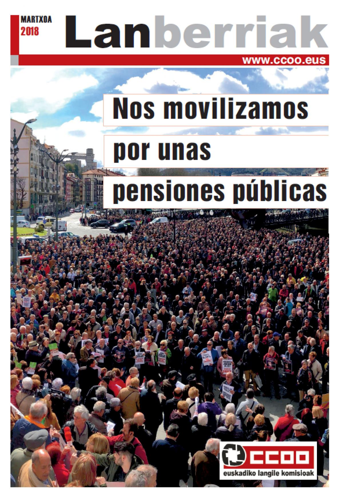 Lanberriak pensiones